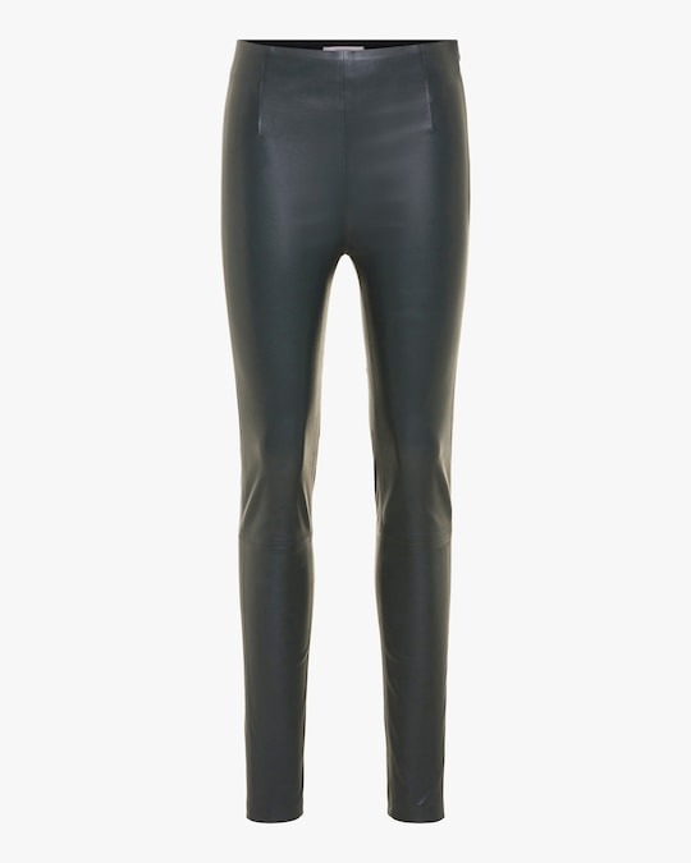 Dorothee Schumacher Sleek Comfort Leather Pants 0