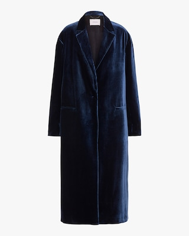Dorothee Schumacher Velvet Volumes Coat 1