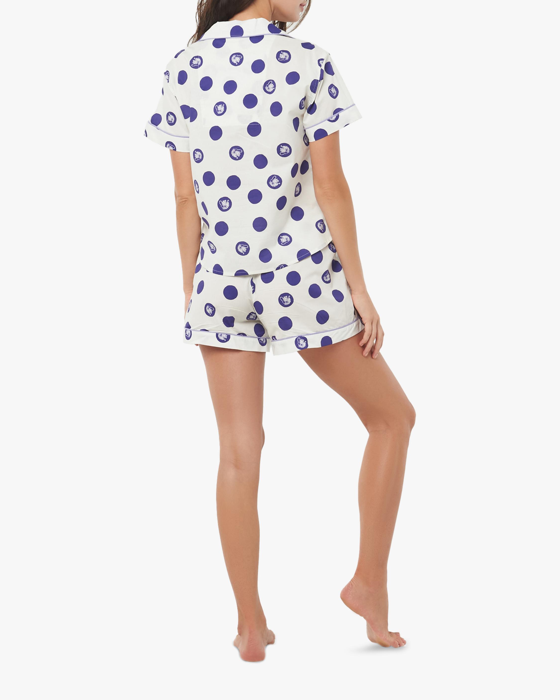 The Lazy Poet Nina Short-Sleeve Cotton Pajama Set 2