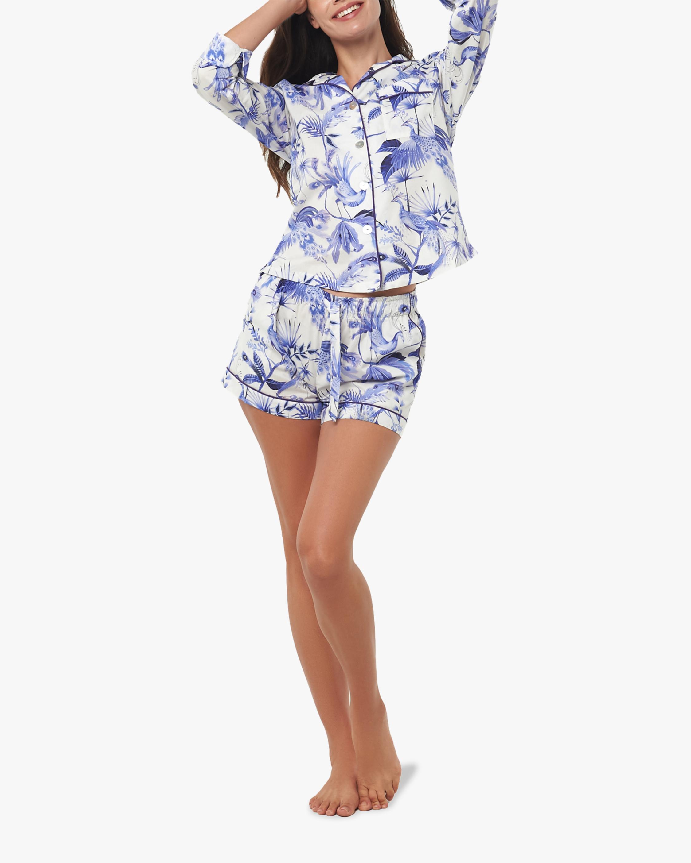The Lazy Poet Vera Long-Sleeve Cotton Pajama Set 0