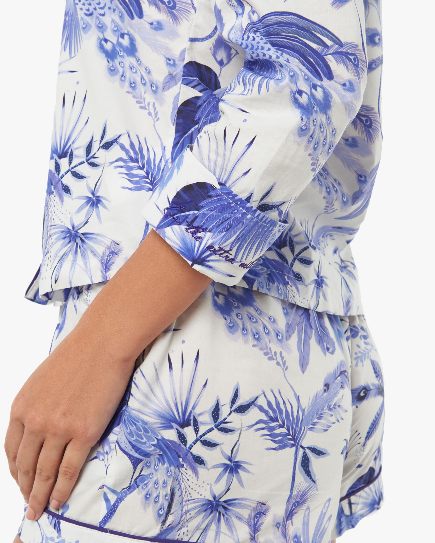 The Lazy Poet Vera Long-Sleeve Cotton Pajama Set 4