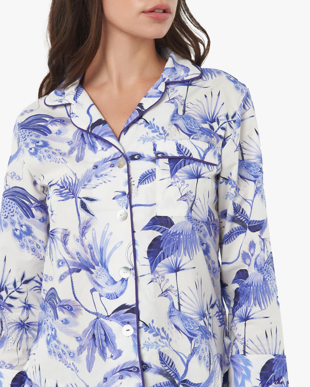 The Lazy Poet Vera Long-Sleeve Cotton Pajama Set 5