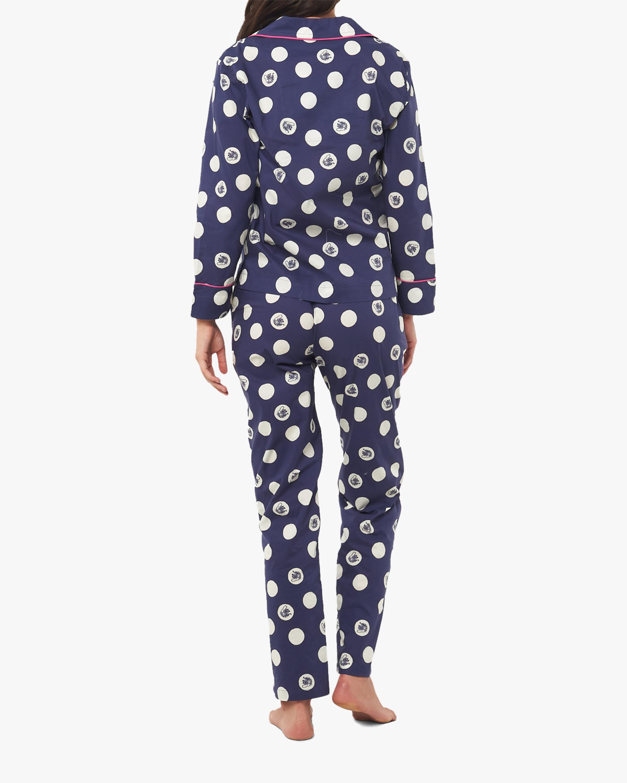 The Lazy Poet Vera Long-Sleeve Linen Pajama Set 3