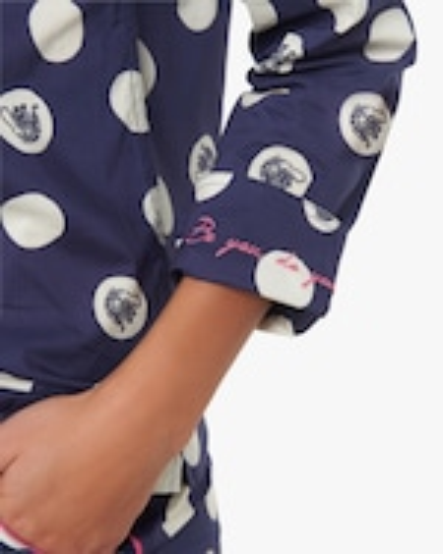 The Lazy Poet Vera Long-Sleeve Linen Pajama Set 5