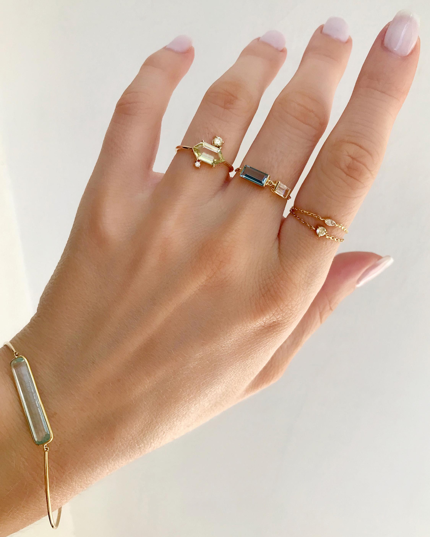 Yi Collection Aquamarine Bracelet 1