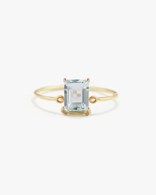 Yi Collection Aquamarine Ice Ring 0