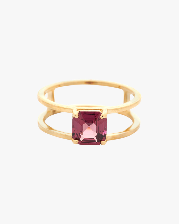 Yi Collection Rhodolite Box Ring 0