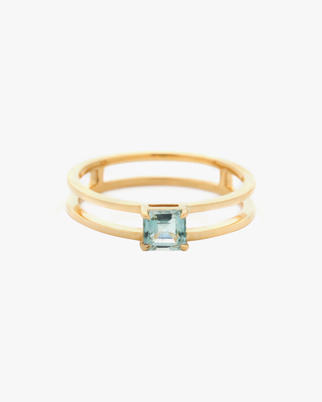Yi Collection Tourmaline Petite Box Ring 0