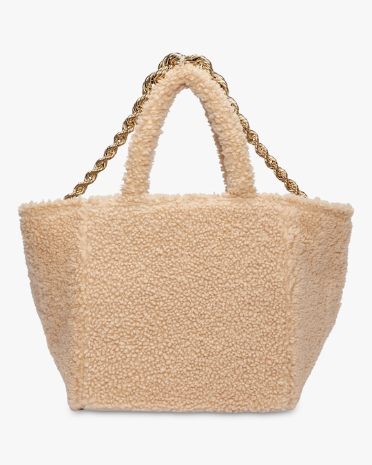 Dorothee Schumacher Wild Touch Shearling Tote 0