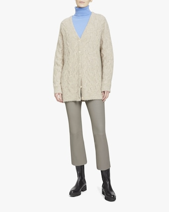 Theory Cable Knit Cardigan 1