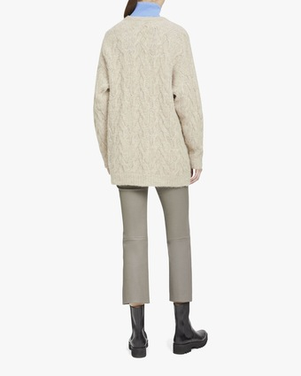 Theory Cable Knit Cardigan 2