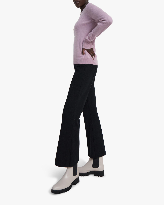 Theory Flared Wool Pants 0