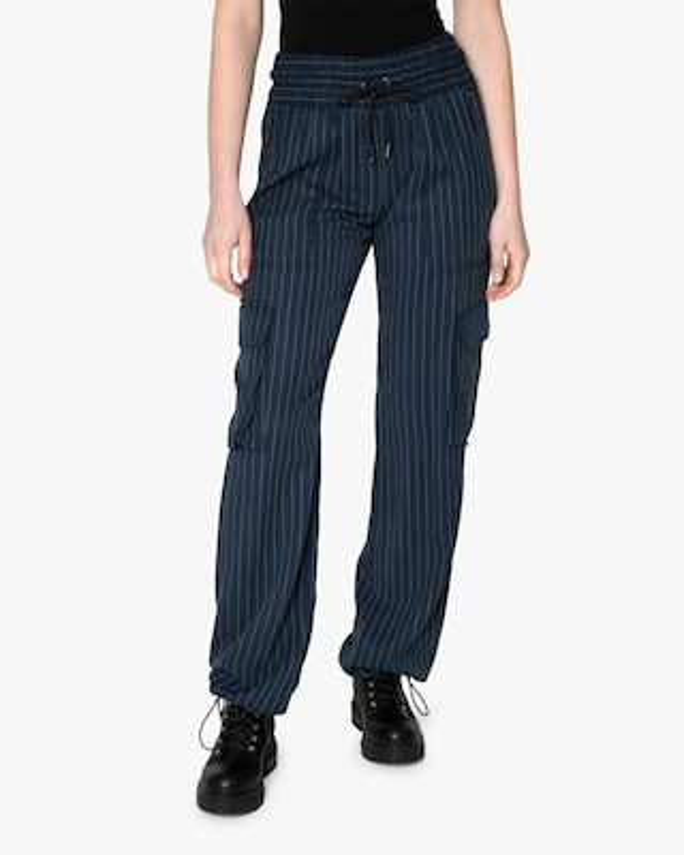 Nicole Miller Pinstripe Utilitarian Pants 1