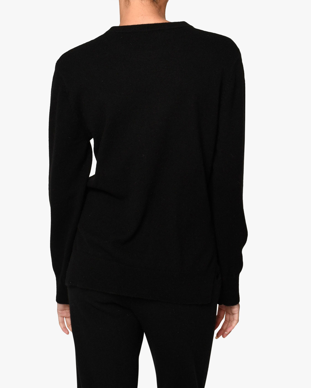 Nicole Miller Icon Cashmere Crewneck Sweater 1