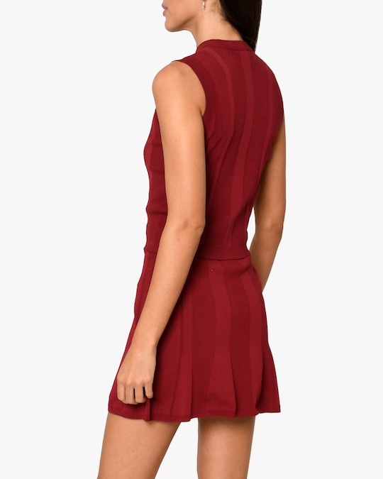Nicole Miller Ribbed Knit Tank 1