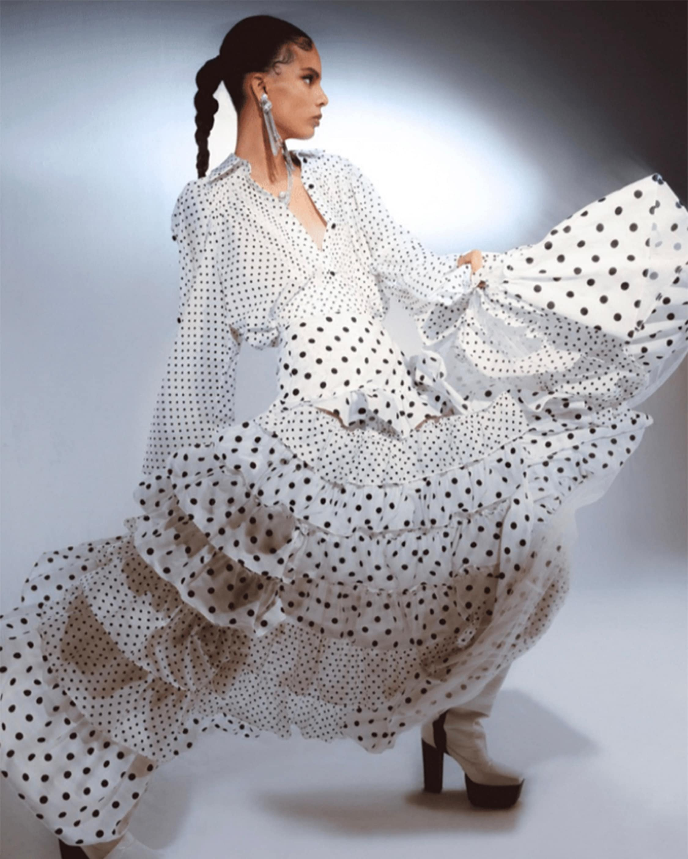 Prabal Gurung Tiered Ruffle Skirt 2
