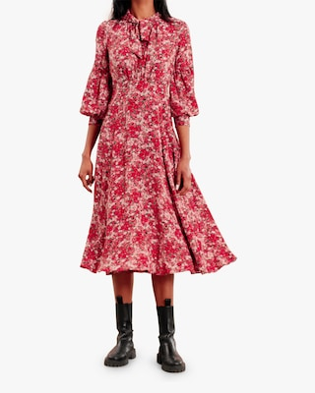 byTimo Roses Midi Dress 1