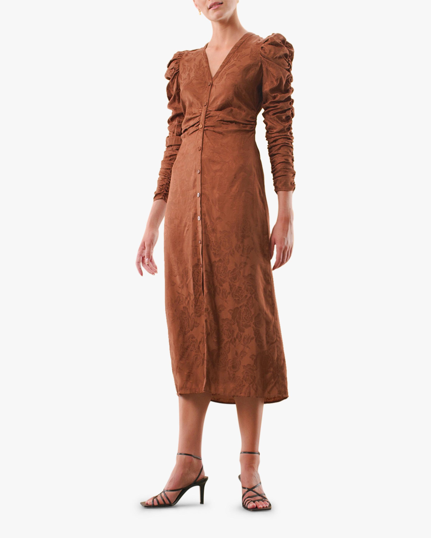 byTimo Gathered Midi Dress 0