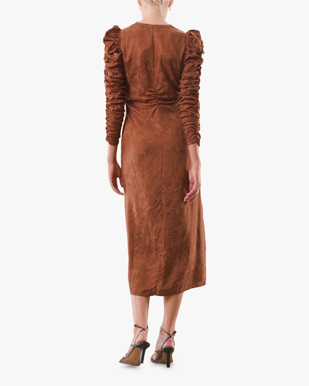 byTimo Gathered Midi Dress 1