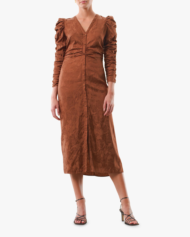 byTimo Gathered Midi Dress 3