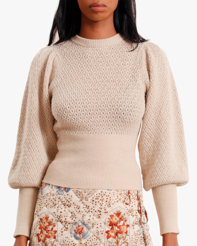byTimo Bishop-Sleeve Sweater 0