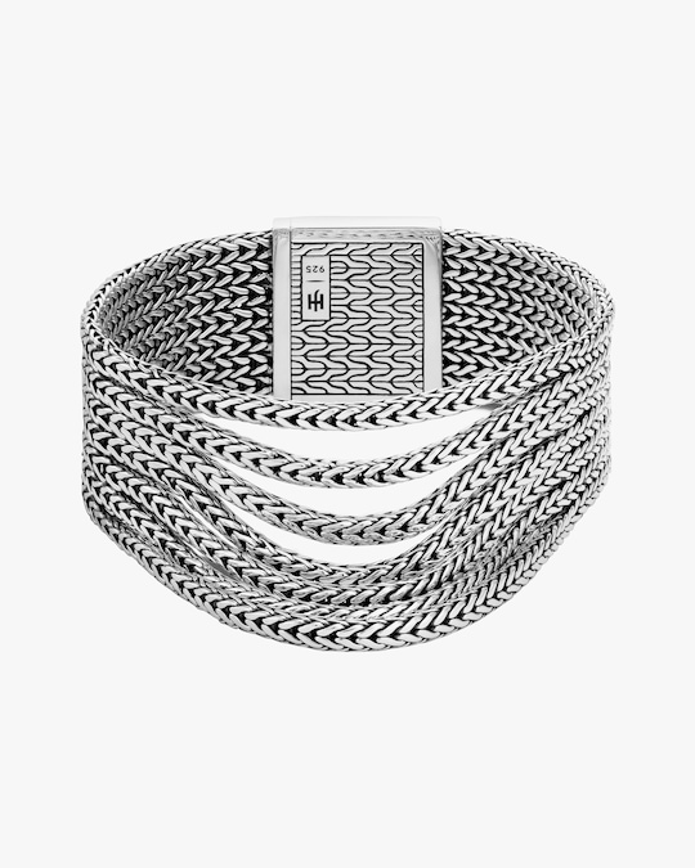 John Hardy Classic Chain Multi-Row Bracelet 0