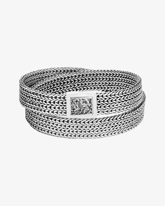 John Hardy Classic Chain Double-Wrap Bracelet 0