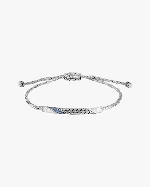John Hardy Classic Chain Twisted Blue Sapphire Bracelet 1