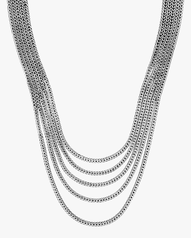 John Hardy Classic Chain Multi-Row Neckalce 3