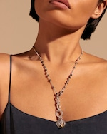 John Hardy Classic Chain Black Spinel Amulet Pendant Necklace 1