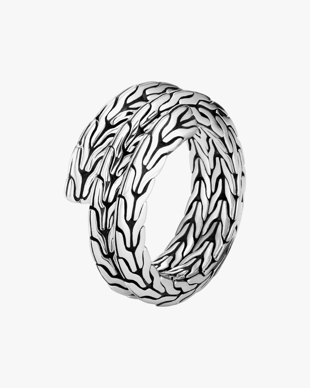 John Hardy Classic Chain Tiga Double-Coil Ring 0