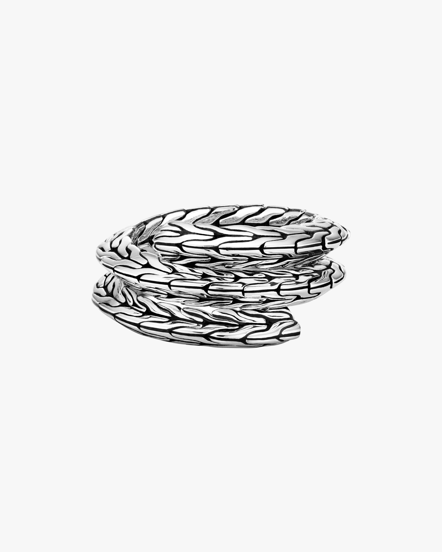 John Hardy Classic Chain Tiga Double-Coil Ring 1