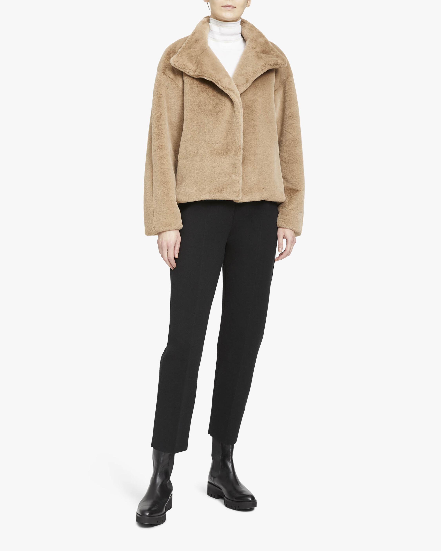 Theory Aspen Offset Faux Fur Jacket 1