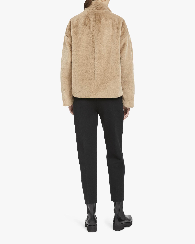 Theory Aspen Offset Faux Fur Jacket 2