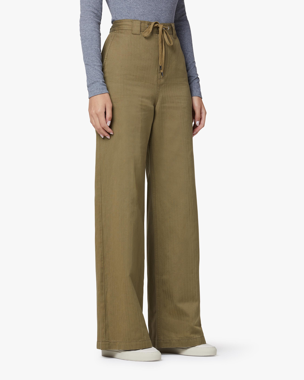 Hudson Drawstring Wide-Leg Trouser 2
