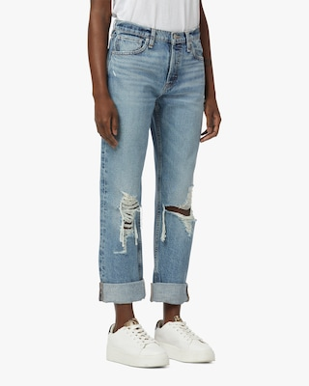 Hudson Thalia Loose-Fit Cuffed Jeans 2