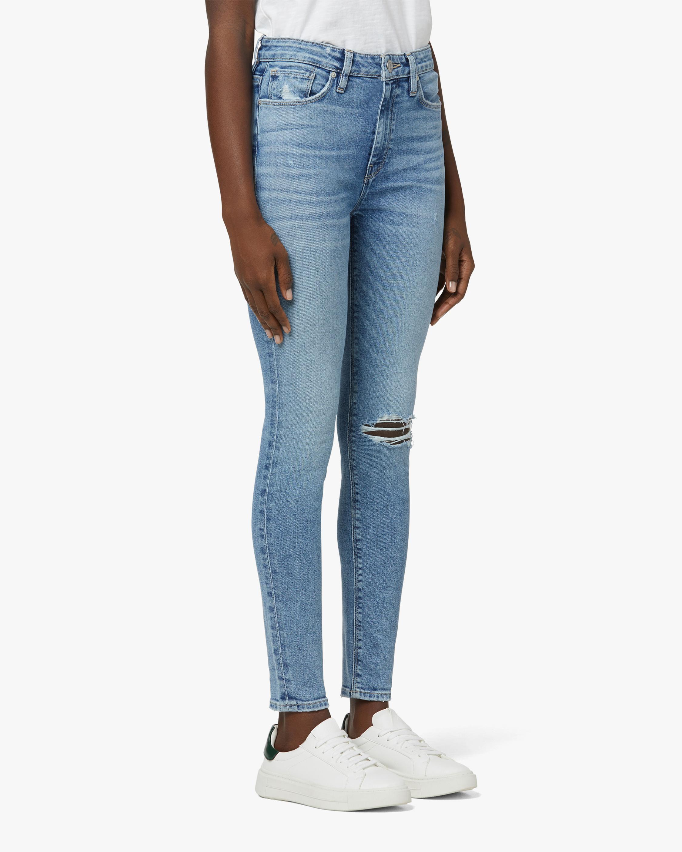 Hudson Barbara High-Rise Super-Skinny Crop Jeans 2
