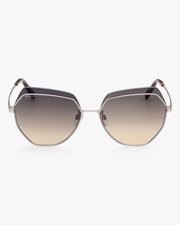 Bally Oversized Geometric Sunglasses 1