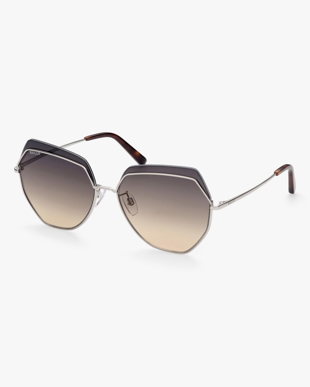 Bally Oversized Geometric Sunglasses 2