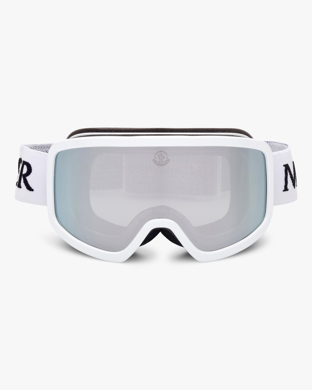 Moncler White Shield Goggles 1