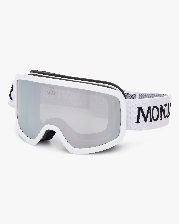 Moncler White Shield Goggles 2