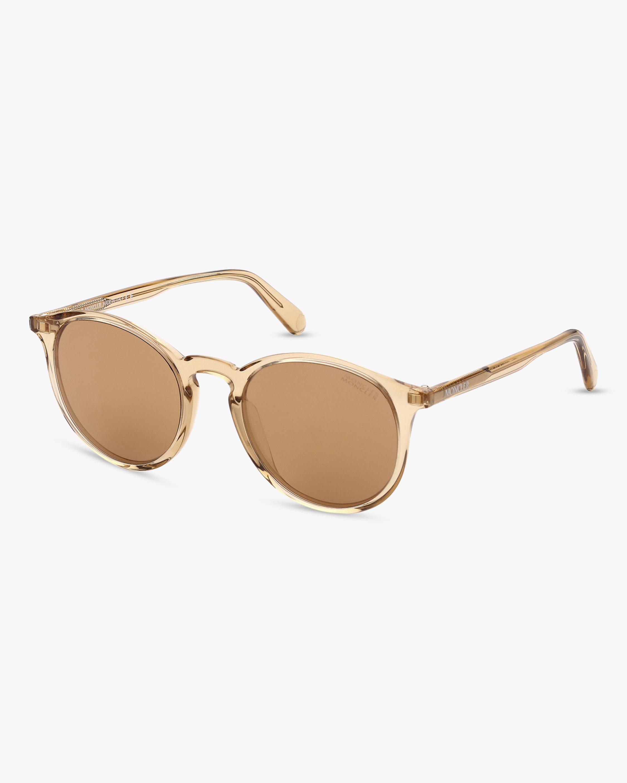 Moncler Beige Round Sunglasses 2
