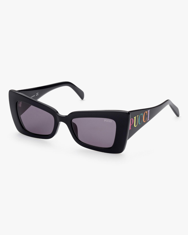 Emilio Pucci Black Butterfly Sunglasses 2