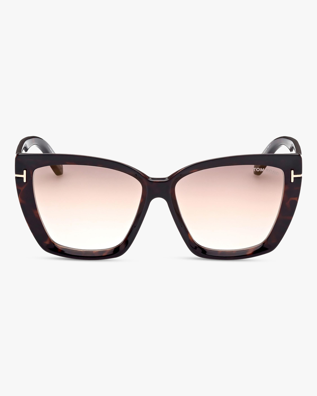 Tom Ford Scarlet Square Sunglasses 1