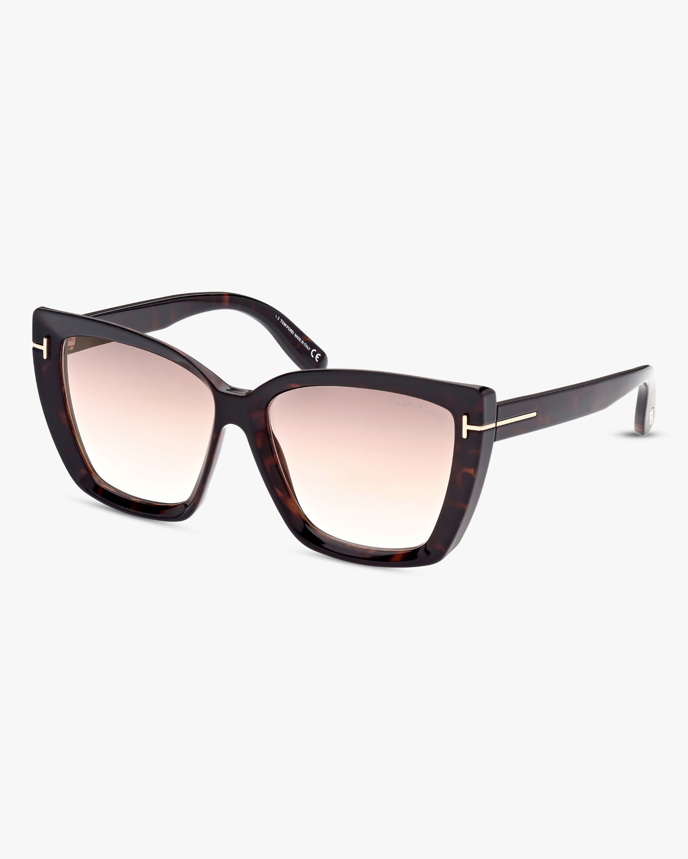 Tom Ford Scarlet Square Sunglasses 2