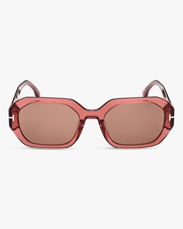Tom Ford Veronique Geometric Sunglasses 1
