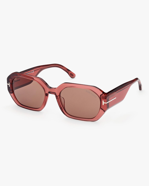 Tom Ford Veronique Geometric Sunglasses 2