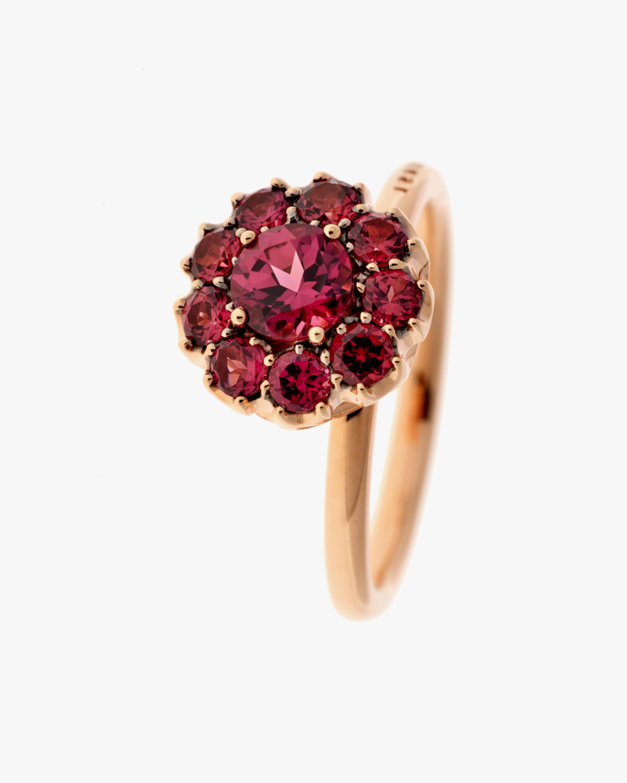 Selim Mouzannar Floral Rhodolite Ring 1