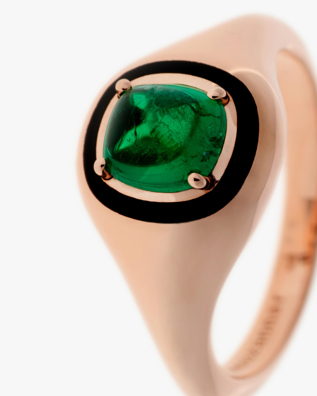 Selim Mouzannar Emerald Round Ring 2