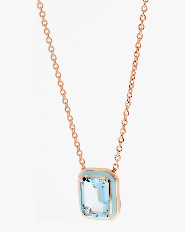 Selim Mouzannar Aquamarine Pendant Necklace 2